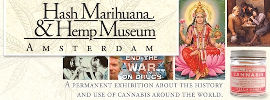 Amsterdam's Hash Marihuana and Hemp Museum in the Red Light District