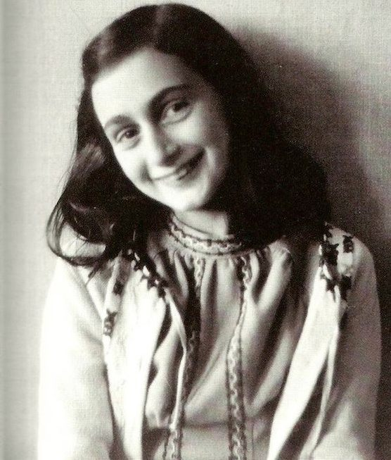 A portrait of Anne Frank. Amsterdam, Netherlands.