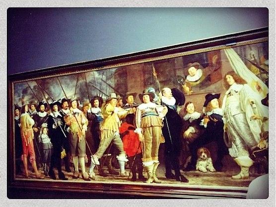 Militia Company of District VIII in the Rijksmuseum in Amsterdam.