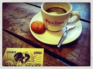 Amsterdam's Hofje van Wijs serves the best coffee in the Red Light District!