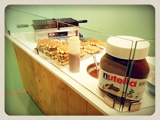 Tip from a local: Go to Koel in Amsterdam and have a Dutch waffle with Nutella.