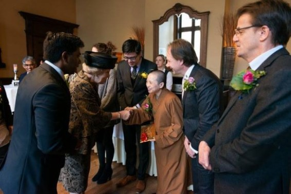 He Hua Temple Opened by queen Beatrix of the Netherlands