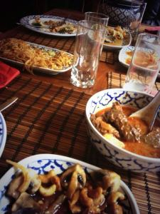 Thai Food at Restaurant Bird in Amsterdam