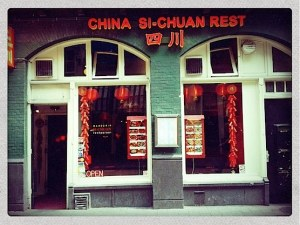 Chinese Restaurant Si-Chuan in Amsterdam