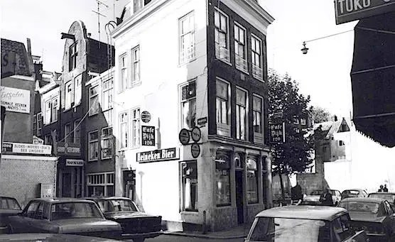 Amsterdam, Red Light District, Cafe Dijk 120. Year 1972