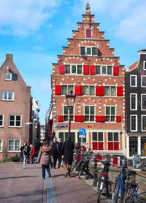 Amsterdam's Red Light District Buildings