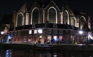 Amsterdam's Red Light District Oude Kerk