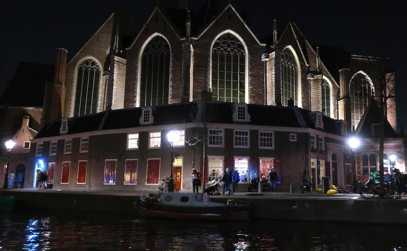 Amsterdam's Red Light District Oude Kerk