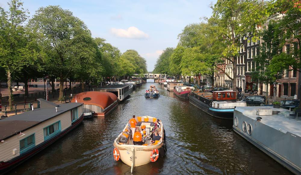 Amsterdam Canal Cruise Summer