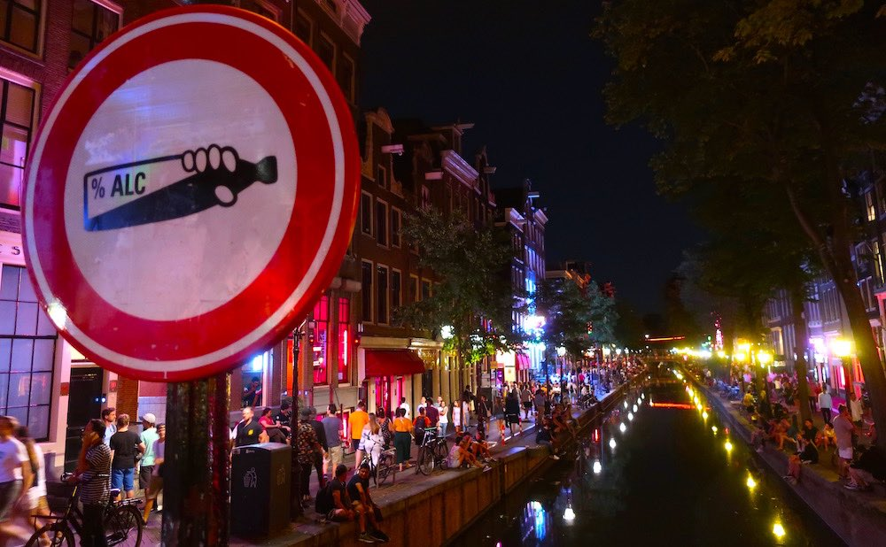 amsterdam red light etiquette