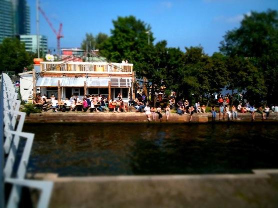 10 tips hot summer days in Amsterdam. Hanneke's Boom in Amsterdam