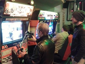 The Ton Ton Club, an arcade game room in Amsterdam.