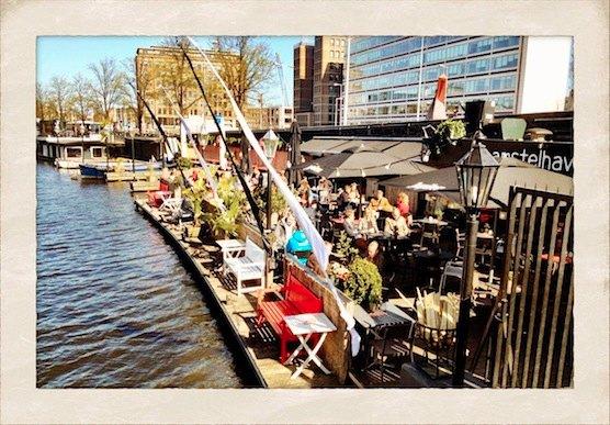 Restaurant Amstelhaven in Amsterdam