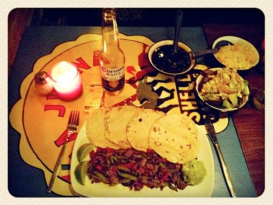 This Mexican restaurant in Amsterdam is really good! Delicious taco's, great beers and margaritas and friendly personal.