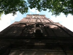 The amazing Old Church in Amsterdam