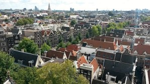 Amsterdam from above: The South of Holland's capital