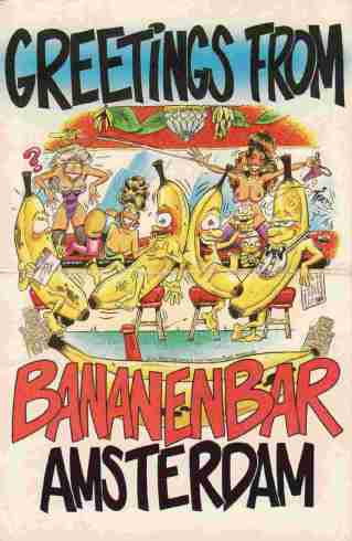 The Bananenbar Postcard