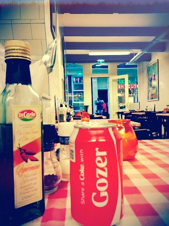 Restaurant Da Portare Via in Amsterdam's Red Light District.