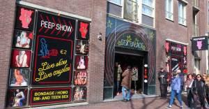 Sex Palace Peep Show Amsterdam