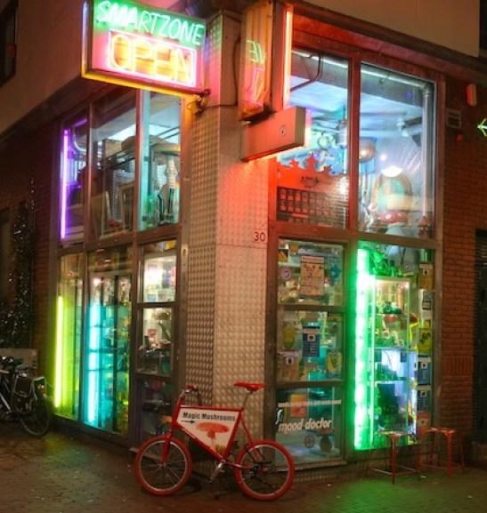 Tips for using drugs in Amsterdam smartshop Smartzone