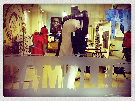 Rambler fashion hotspot in Amsterdam's Red Light District.