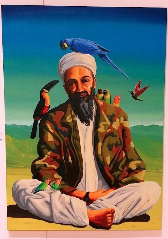 Art in Red Light: Exotic Osama bin Laden