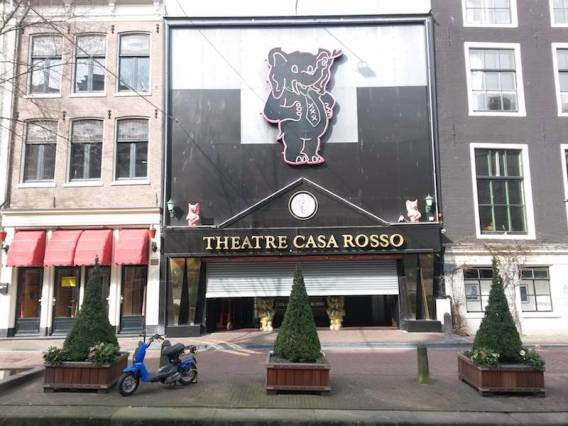 famous sex show in amsterdam