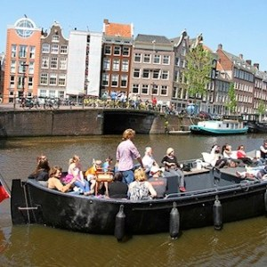 Amsterdam Red Light District Canal Cruise Boat Ticket