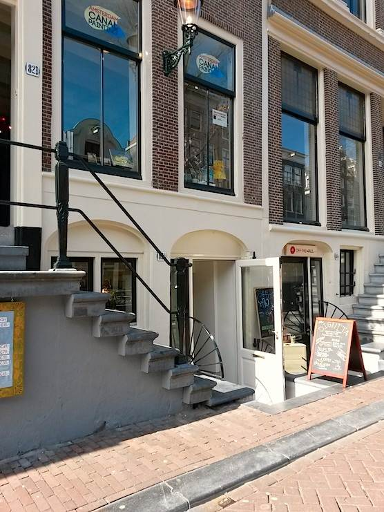 Dignita is the newest coffee shop in Amsterdam.