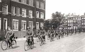 Amsterdam May 1940 German Soldiers