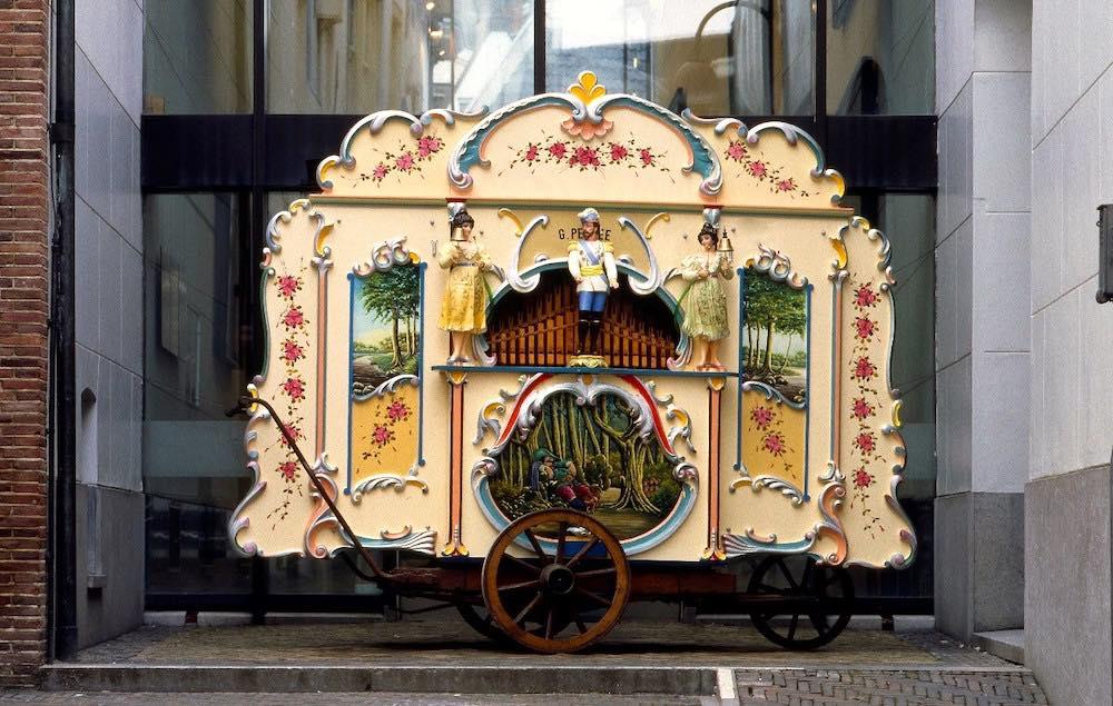 Amsterdam street organ