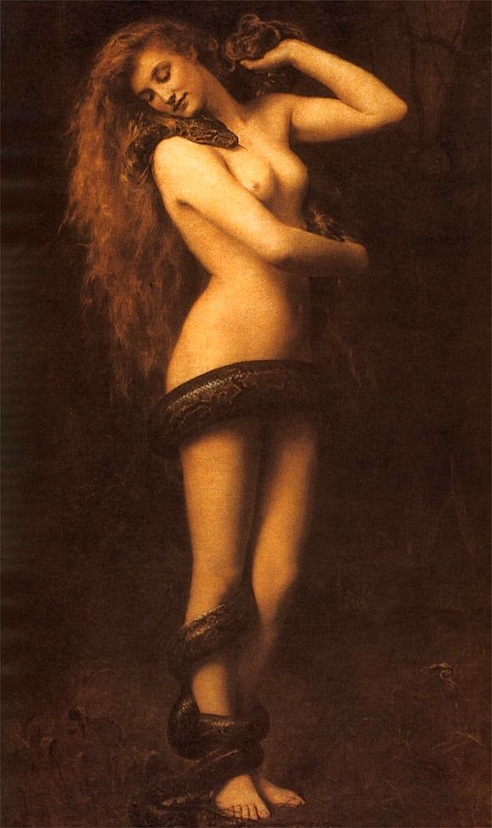 History of Prostitution - Lilith by john collier