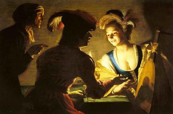 History of Prostitution - Judith Leyster - Prostitute - 1650