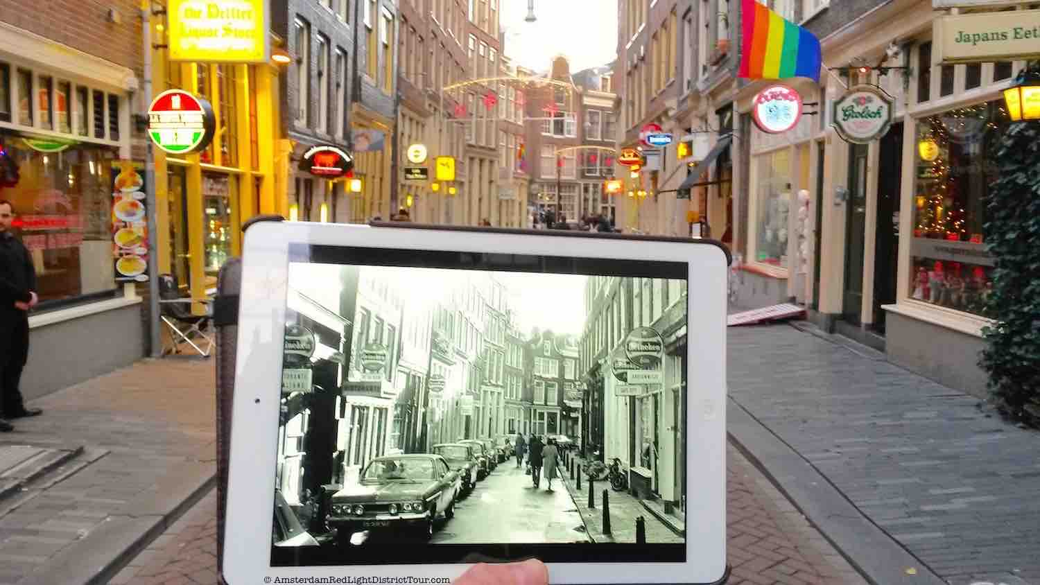 Amsterdam Red Light District Now and Then: Zeedijk