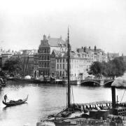 Amsterdam-Binnen-Amstel-Kloveniersburgwal-Jacob-Olie-1890