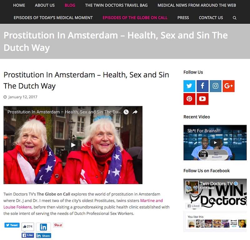Prostitution in Amsterdam Fokken Twins Doctors