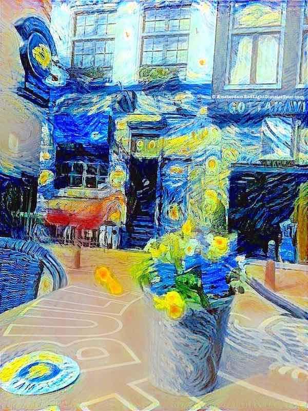 Coffeeshop the Bulldog by Van Gogh