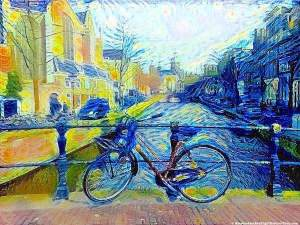 The Red Light District by Van Gogh