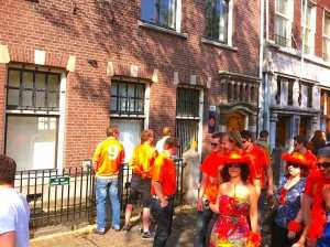 Urine Recycling In Amsterdam Kingsday 2016