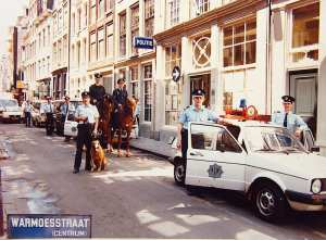 Amsterdam Red Light District Police Tour