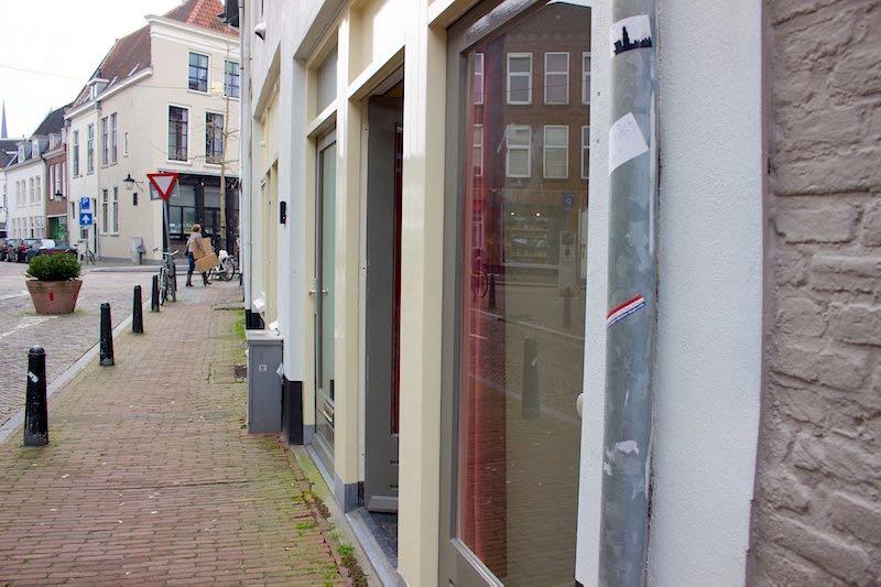 No Window Prostitution Red Light District Utrecht Netherlands