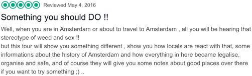 TripAdvisor reviews Amsterdam Red Light District tour