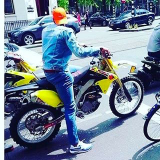 Amsterdam police in the Red Light District busted Chris Brown