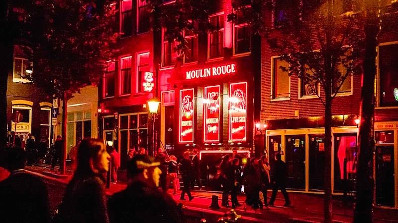 Amsterdam red light anal sex #15