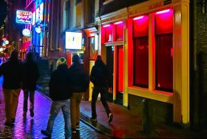 Amsterdam Red Light District Window Brothels