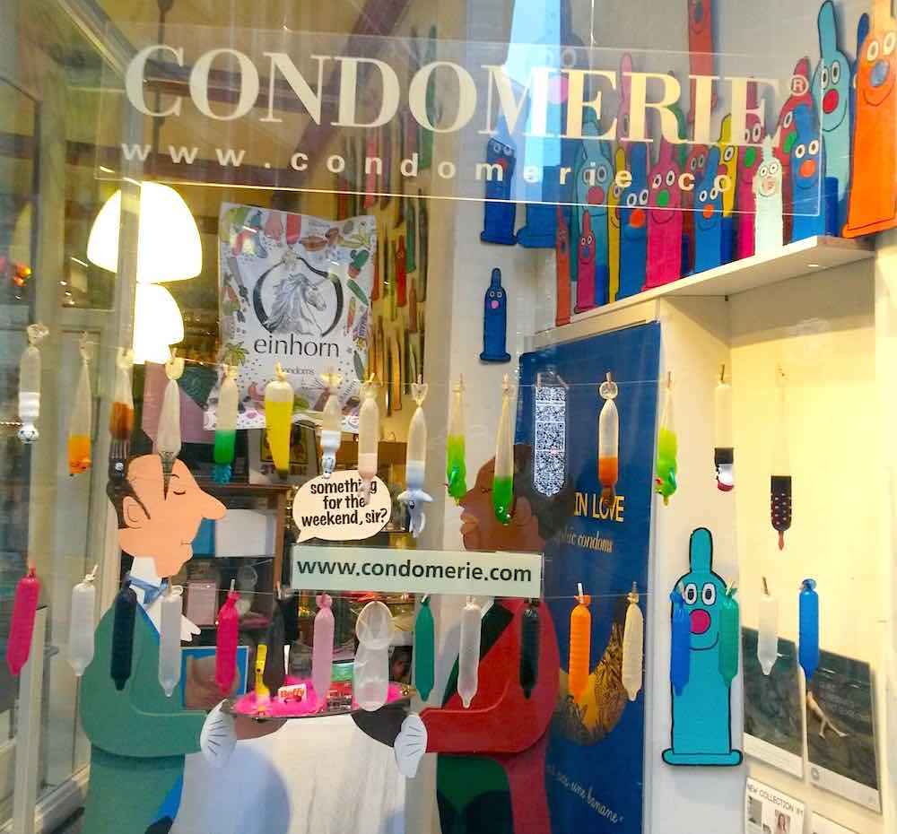 An Interview With The First Condom Shop Of The World
