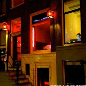 Amsterdam Red Light District Picture