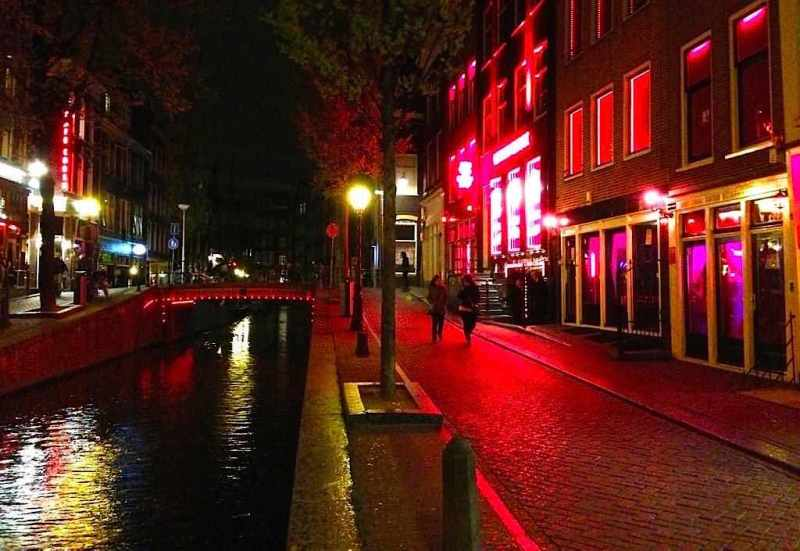 Amsterdam Red Light District School
