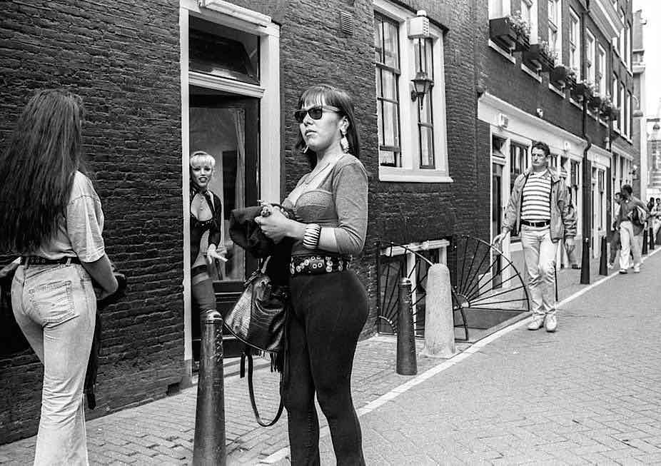 Amsterdam Red Light District Stories Photos 1990s