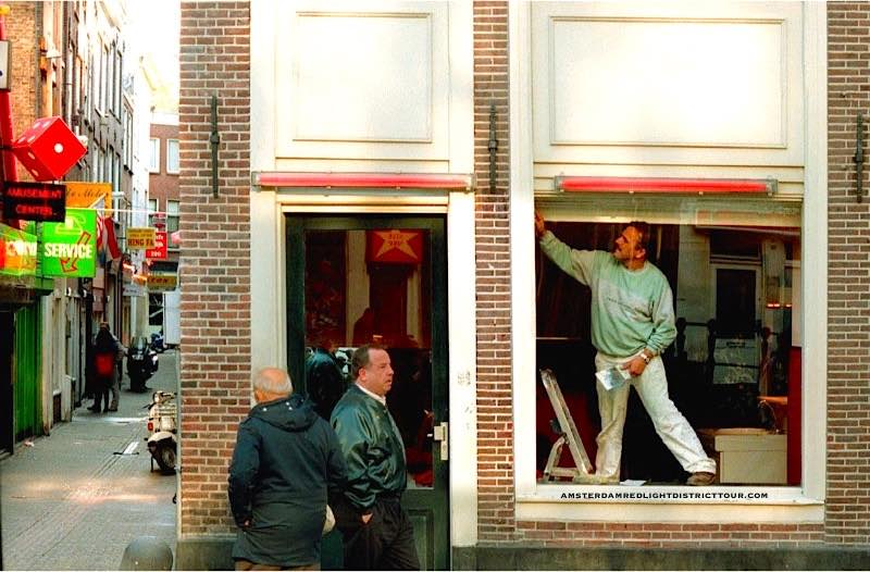 Amsterdam Red Light District Stories Pictures 1994 Window Brothel